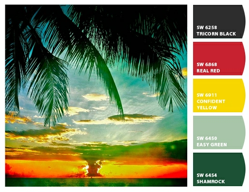 Tropical paint schemes 28 images 1000 images about for Tropical house color schemes