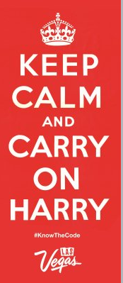 Keep Calm and Carry on Harry
